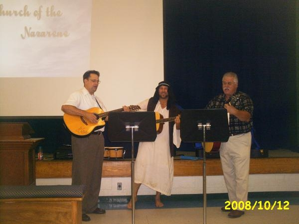 The Praise Team in the early days