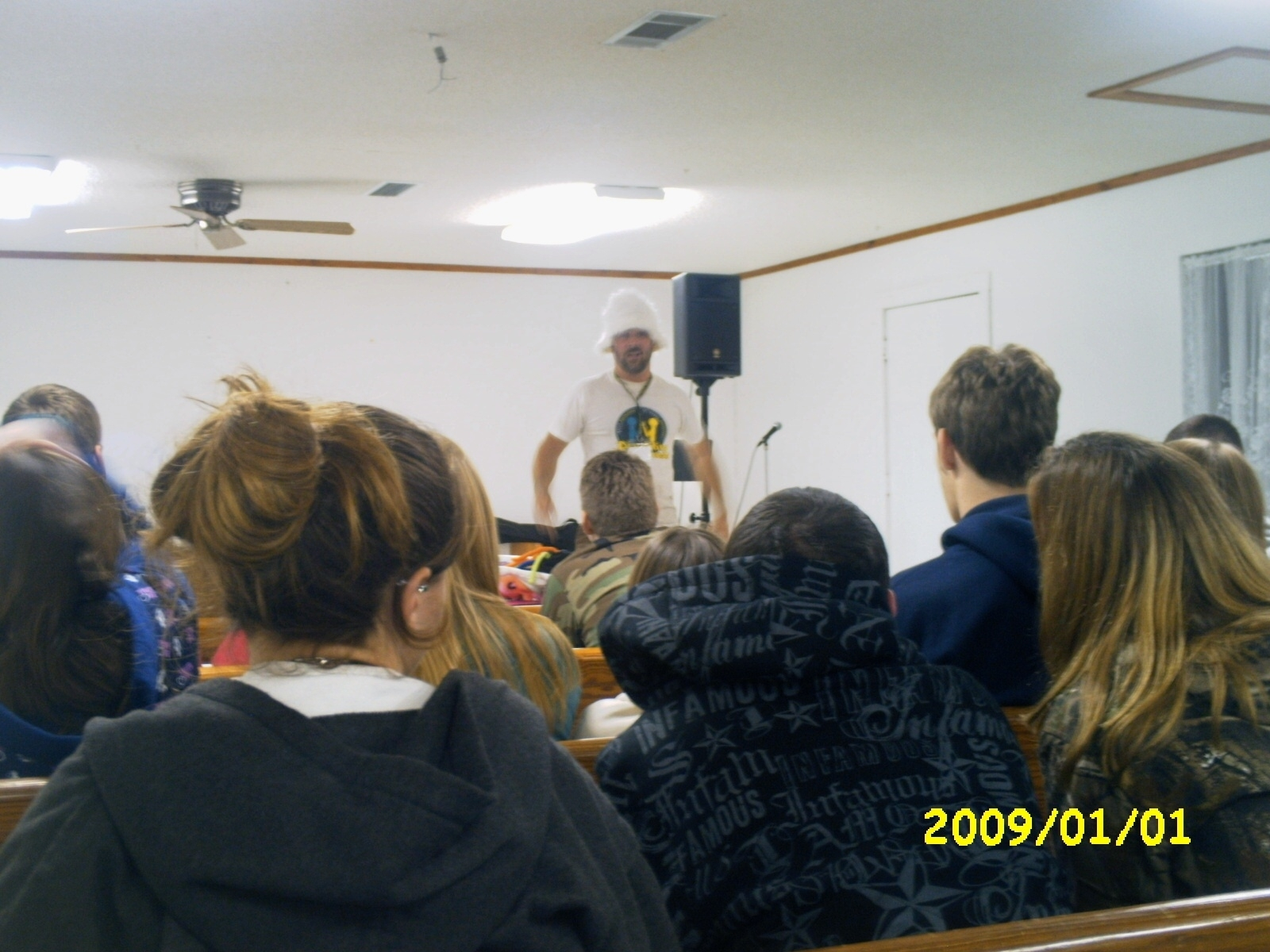 From Youth Lock-in 2008-09
